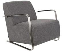 Fotel ADWIN - ciemnoszary