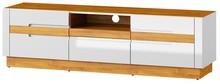 Dwudrzwiowa szafka rtv z jedna szufladą to projekt, który wyróżnia się nie tylko doskonałą prezencją ,ale też najwyższą funkcjonalnością. Za...