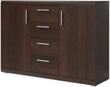 Mestre S 26 - komoda 2 drzw., 4 szuflady  MESTRE S to nowość o ponadczasowym designie. Cała kolekcja jest wykonana z wysokiej klasy laminatu a...