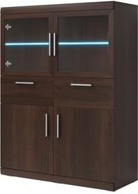 Mestre WM 42 - komoda 4 drzwiowa, 2 szuflad  MESTRE WM to nowość o ponadczasowym designu. Kolekcja ta jest kontynuacją sypialni o tej samej nazwie. W...