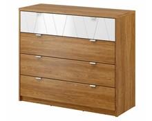 Pojemna i gustowna komoda pozwoli zaprowadzić porządek w każdym wnętrzu. Wyposażona w 4 przestronne szuflady umożliwi schowanie wszystkich niezbędnych...