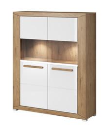 Lumi WM 42 - komoda 2 drzwiowa  System mebli do pokoju dziennego LUMI to idealne rozwiązanie dla Klientów, którzy lubią kolory ziemi. System dostępny...
