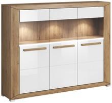 Lumi WM 46 - barek 3 drzwiowy  System mebli do pokoju dziennego LUMI to idealne rozwiązanie dla Klientów, którzy lubią kolory ziemi. System dostępny...
