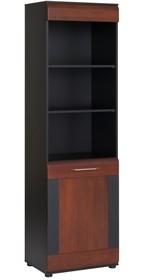 Regał jednodrzwiowy z kolekcji Vievien to mebel, który jest niezbędnym elementem wyposażenia każdego funkcjonalnego i eleganckiego wnętrza. Połączenie...