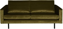 Sofa Rodeo 2,5 osobowa aksamitna oliwkowa
