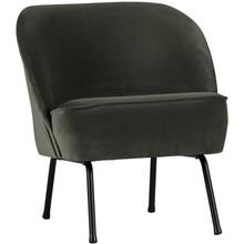 Fotel Vogue onyx  Wymiary:  - Wysokość: 69 cm - Szerokość: 57 cm - Głębokość: 70 cm  Kolor:  - szary  Materiał:  - poliester 92%...