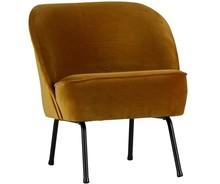 Fotel Vogue musztardowy  Wymiary:  - Wysokość: 69 cm - Szerokość: 57 cm - Głębokość: 70 cm  Kolor:  - musztardowy  Materiał:  - poliester...