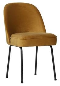Krzesło do jadalni Vogue musztardowe  Wymiary:  - Wysokość: 82.5 cm - Szerokość: 50 cm - Głębokość: 57 cm  Kolor:  - musztardowy ...