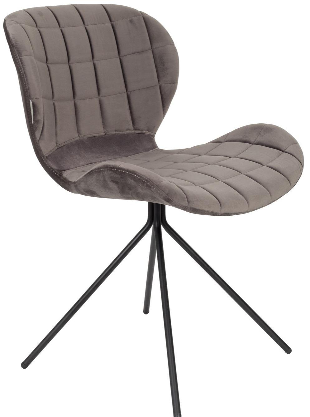 Krzesło biurowe OMG szare, Zuiver Meble sklep meble.pl