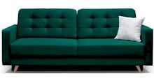 Kanapa w skandynawskim stylu PIK Zielona
