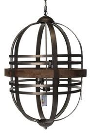 Lampa wisząca JAVA marki ALURO łączy w sobie funkcję użytkową oraz dekoracyjną, zachwyca naturalnym i surowym charakterem. <br />Wykonana z...