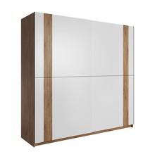 Adita 18 - szafa 2-drzwiowa  Wymiary:  Szerokość:221 cm Wysokość: 210 cm Głębokość: 61 cm  Wykonanie:  - płyta laminowana