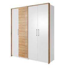 Form 20 - szafa 4-drzwiowa  Wymiary:   Szerokość: 193 cm Wysokość: 216 cm Głębokość: 63 cm  Wykonanie:  - płyta meblowa laminowana -...