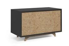 Komoda AA067 KROOD STEEL  Zestaw nowoczesnych, minimalistycznych mebli do samodzielnego skomponowania. Mebel składa się ze stalowych konstrukcji, które...