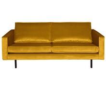 Sofa RODEO 2,5 - aksamitna musztardowa