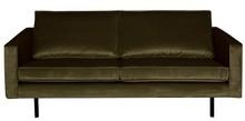 Sofa RODEO 2,5 - aksamitna ciemnozielona