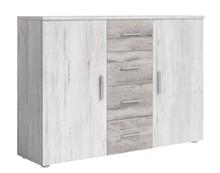 Vera 26 - komoda 2 drzwi + 4 szuflady  Sypialnia VERA to połączenie nowoczesnego designu i trendów w produkcji. W kolekcji do wyboru jest wyjątkowo...