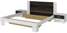 Vera 51 - łóżko 160/200 + stoliki nocne  Sypialnia VERA to połączenie nowoczesnego designu i trendów w produkcji. W kolekcji do wyboru jest wyjątkowo...
