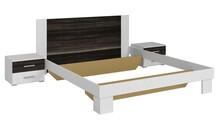 Vera 52 - łóżko 180/200 + stoliki nocne  Sypialnia VERA to połączenie nowoczesnego designu i trendów w produkcji. W kolekcji do wyboru jest wyjątkowo...