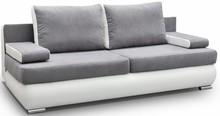 Model Luiza charakteryzuje zaokrąglona podstawa. Podłokietniki w każdej chwili można ściągnąć poszerzając przy tym powierzchnię siedzącą sofy....