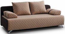 Model Lisa to kanapa pasująca do nowoczesnych wnętrz. Jest ona wyposażona w funkcję spania i pojemnik na pościel. Charakter kanapie nadają pikowania w...