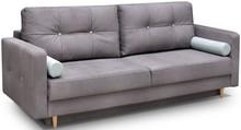 Model Oslo to kanapa pasująca do nowoczesnych wnętrz utrzymanych w tonacji skandynawskiej. Jest ona wyposażona w funkcję spania i pojemnik na pościel....
