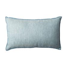 Kolor: morski błękit Materiał: bawełna, len, Cotton/linen Wymiary: 30 * 50 cm