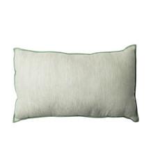 Kolor: zielony Materiał: bawełna, len, Cotton/linen Wymiary: 30 * 50