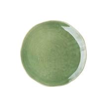 Kolor: zielony Materiał: kamionka Wymiary: Ř 24 cm