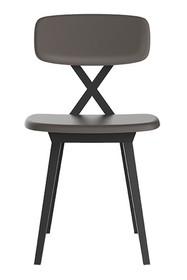 Krzesło X z poduszką gołębi