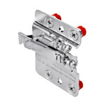 Zawieszka do szafek typ ST-(ZN) Prawa z szyną montażową (ZN)- H60MM i zaślepką w kolorze białym.  Zawieszka i szyna wykonana ze stali,zaślepka z...