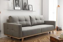 Rozkładana kanapa LINDA w skandynawskim stylu