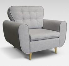 Fotel INGRID w skandynawskim stylu