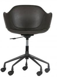 Krzesło biurowe Fos szare  Kolor:  - Szary  Wymiary:  - Wysokość: 77-83 cm - Szerokość: 59.5 cm - Głębokość: 53.5 cm  Materiał:  -...