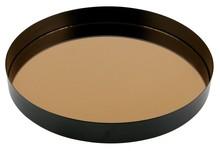 Kolor: czarny Materiał: metal Wymiary: 3,5x30x30
