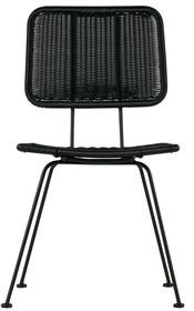 Krzesło do jadalni Set of 2 Hilde czarne