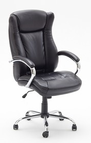 Fotel biurowy PORTER VIP - czarny