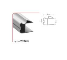 Zestaw Do 2 Drzwi Przesuwnych WENUS 18 wys.270/szer235cm Srebrny - Aluprofil