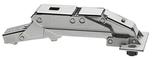 CLIP top zawias do cienkich drzwi 71B453T. Kąt otwarcia: 110° Wygięcie: Drzwi nakładane Mocowanie puszki: EXPANDO Materiał puszki: Cynkowa...