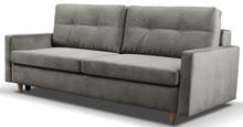 Model MILA to funkcjonalna i komfortowa kanapa wyposażona w dwuosobową funkcje spania o powierzchni 152 x 200 cm oraz praktyczny pojemnik na pościel,...