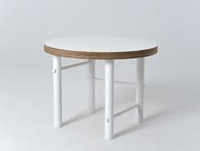 Stół kawowy MIMO 60 - biały