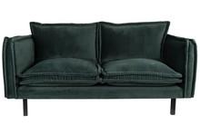Sofa BERRY - ciemnozielona