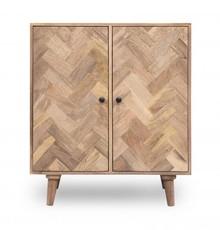 Komoda drewniana w skandynawskim stylu, komoda nowoczesna PQ-PR04-MN