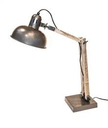 Wymiary:  -Wysokość: 55 cm  Materiał:  - metal - drewno
