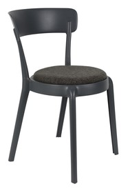 Krzesło HOPPE COMFY - ciemnoszare