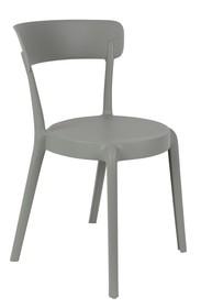 Krzesło HOPPE - jasnoszare