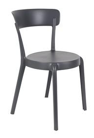 Krzesło HOPPE - ciemnoszare