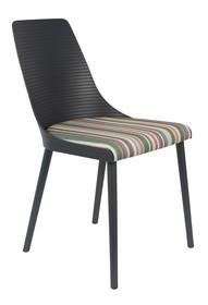 Krzesło OLIVIA - ciemnoszare