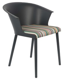 Fotel OLIVIA - ciemnoszary