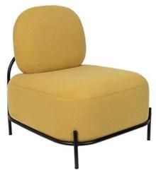 Fotel lounge POLLY - żółty